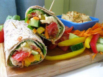 Wraps, Garden Vegetable
