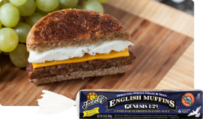 English Muffins, Sprouted Grain