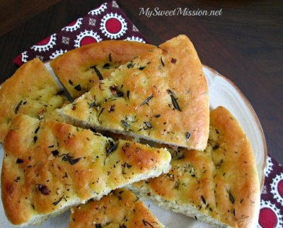 Rosemary & Thyme Focaccia