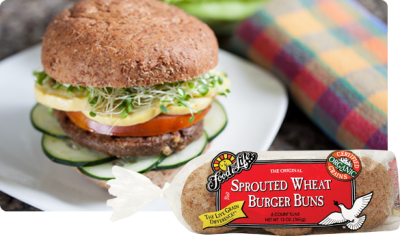 Sprouted Seven-Grain Hamburger Buns