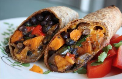 Wraps, Burrito Size, Roasted Red Peppers