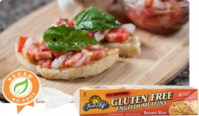 Brown Rice English Muffin, Gluten Free
