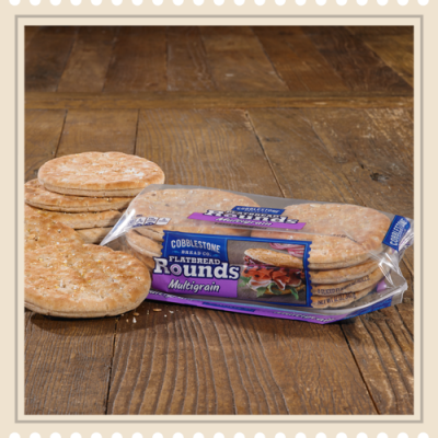 Flatbread Rounds, Multigrain, Rolls