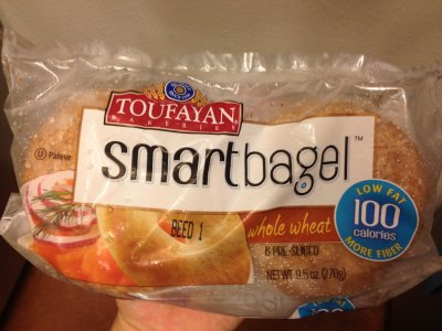 Smart Bagel - Whole Wheat