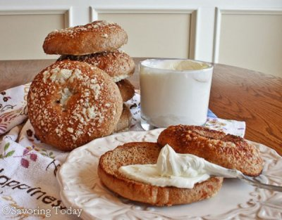 Sprouted Wheat, Bagels