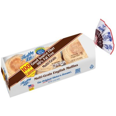 English Muffins,Reduced Calorie 12 Oz