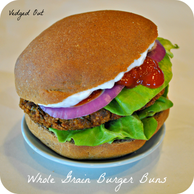 Whole Grain Hamburger Buns