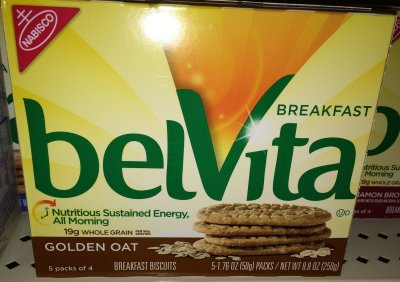 belVita Breakfast Biscuits, Golden Oat