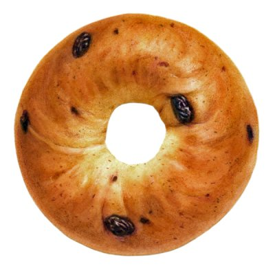 Smart Bagel, Cinnamon Raisin