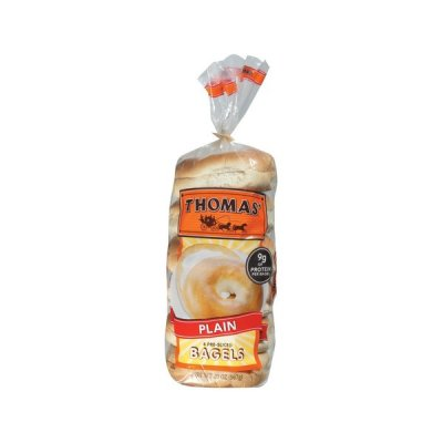 English Muffins,Plain Pre-Sliced 6 Ct