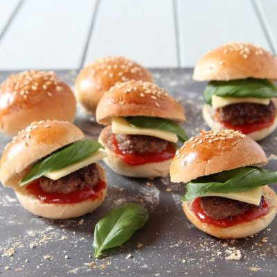 Mini Hamburger Buns