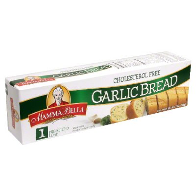 Pre-Sliced Garlic Loaves With Real Garlic