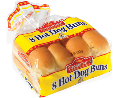 8 Hot Dog Buns