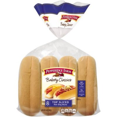 Buns, Hot Dog, Top Sliced, Classic