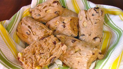 Force Primeval Bars - Raisin Walnut Apple Bars