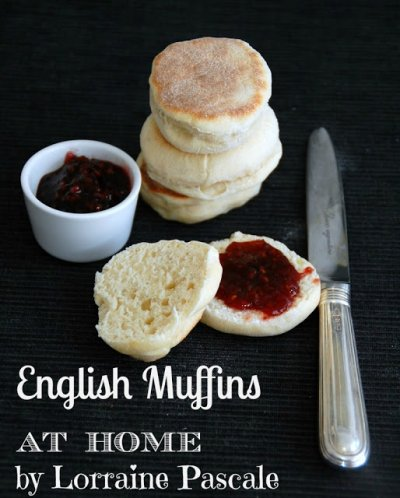 Old Fashioned English Muffins