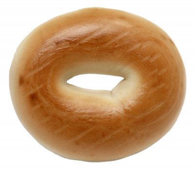 Plain Bagel (includes onion, poppy, sesame)