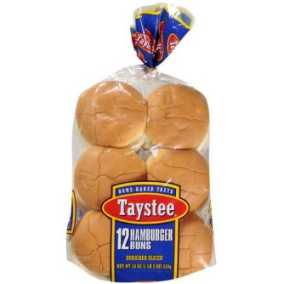 Enriched Wheat Buns Sliced